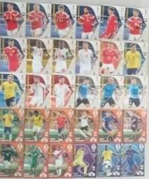 Cards da copa do mundo 2018