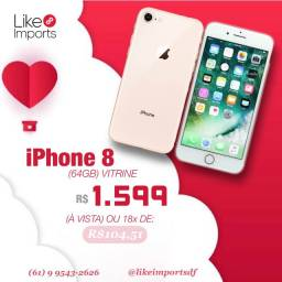8 GOLD 64GB IPHONE VITRINE - LIKEIMPORTS