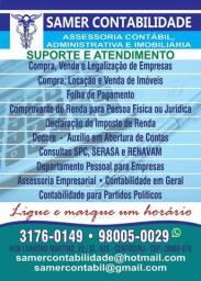 Samer Contabilidade Assessoria Administrativa e Imobiliária