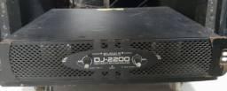 Vendo potência Studio r dj-2200 2.200 watts rms