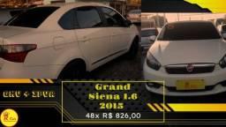 Grand Siena 2015 1.0 + GNV