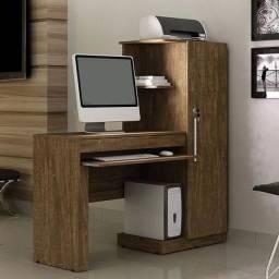 Escrivaninha Mesa Para Computador Com Armário e Gaveta Novo