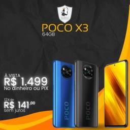Celular Poco X3 64GB - Novo Lacrado c/ garantia