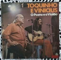 Lp Toquinho e Vinicius O Poeta e o Violão 1975