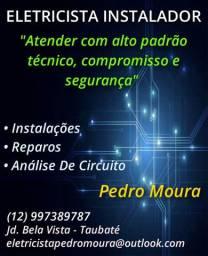 Eletricista Instalador Pedro Moura