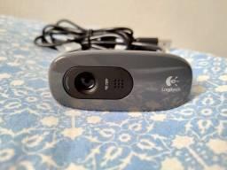 Webcam Câmera HD 720p C270 Logitech com microfone