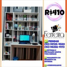 56. Promoção Kit Escritório = Mesa+Nicho+Prateleira+Torre :)