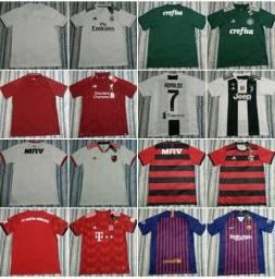 Camisas de times nacionais,internacionais e seleções