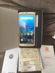 Moto E5 play / troco / nota fiscal +Garantia