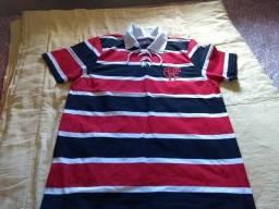 Camisa retrô Cobra Coral Flamengo 1913
