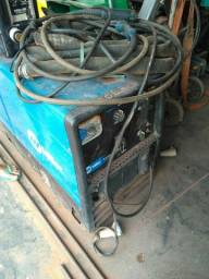 Máquina solda a diesel
