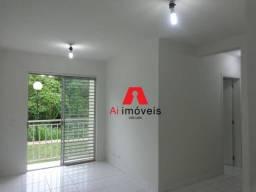 Apartamento com 3 dormitórios para alugar, 63 m² por r$ 1.100/mês - floresta sul - rio bra