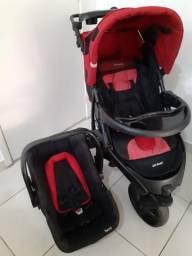 Carrinho Off Road + bebê conforto