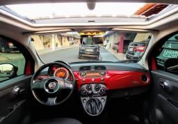 Fiat 500 2012 novinho, com teto solar - 2012