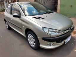 Peugeot 206 Ano 2008 Completo - 2008