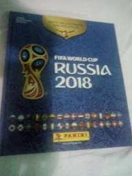 Álbum de figurinhas da copa do mundo 2018