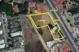 TE0368 Terreno nas margens da CE 040 Eusébio, 2.800m² para alugar