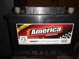 Bateria América 60Ah Semi nova.