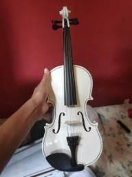 Violino branco 4/4 intermediário/avançado