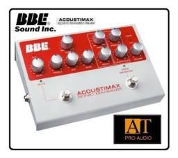 Pedal Preamp P/instrumento Acústico Bbe Acoustimax Maximizer Novo na Embalagem Original