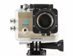 Vende-se Câmera Action Cam Go Sports Pro Full Hd 1080p Prova D'agua Wi-fi 4k.