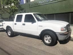 Camionete Cabine dupla Ranger a diesel com preço de carro à gasolina - 2008