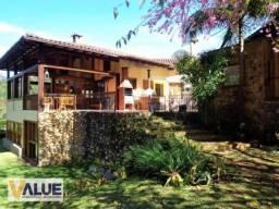 Casa com 4 dormitórios à venda, 450 m² por r$ 2.100.000 - araras - petrópolis/rj