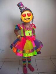 Fantasia carnaval (palhacinha)
