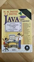 Livro Java - Como programar, de H. M. Deitel e P. J. Deitel - no Butantã comprar usado  São Paulo