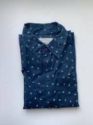 Camiseta social masculina