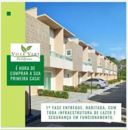 Título do anúncio: Casa Duplex em condomínio Ville Vert, Eusébio, 2 quartos, 2 vagas