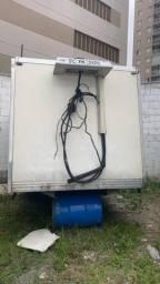 Baú refrigerado frigorifico para iveco 3,5m com aparelho