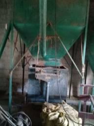 Fábrica ração turbinada