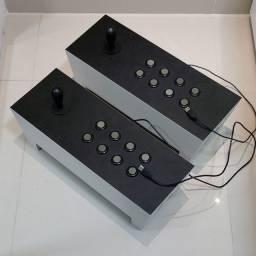 Duas bancadas para fliperama USB