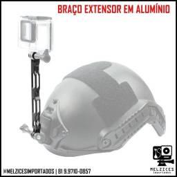 Título do anúncio: Braço Extensor em Alumínio 16cm Para GoPro e Similares