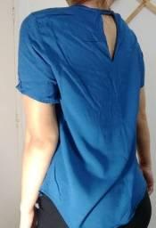 Blusa Azul M