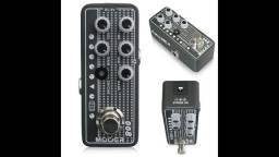 Pedal Mooer Pré Amplificador M008