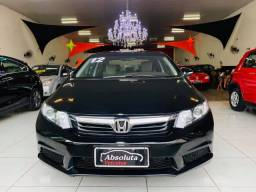Civic 2012 lxl automático + ar digital, carro impecável !!!
