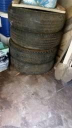 Vende-se 4 pneus aro 16 meia vida