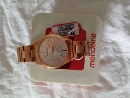 Relógio mondaine  rosê feminino