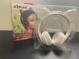Fone orelha de gatinho