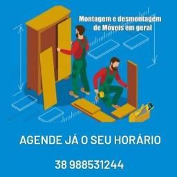 Título do anúncio: Montagem de móveis