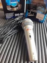 Microfone Dinâmico Weisre DM-501