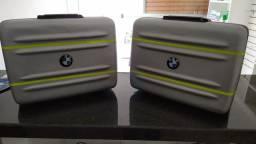 Mala e suporte lateral BMW gs 650 original