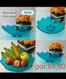 Fruteira tupperware.