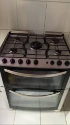 Título do anúncio: Fogão 5 bocas elétrico dois fornos