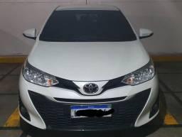 Toyota yaris 19 XL 1.3 cvt aut branco perolizado