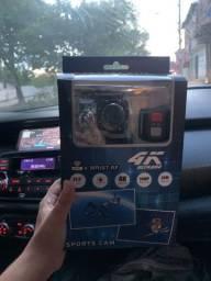 Câmera Go pro 4k + Controle frete grátis