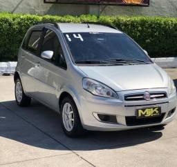 Fiat - Idea 1.4 Attrac. - Completa - B. de Couro ( Excelente P Uber ) 2014