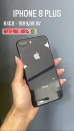 Título do anúncio: iPhone 8 Plus usado